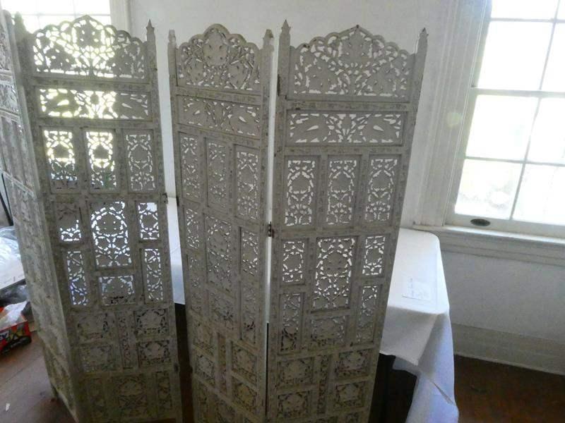 Lot # 107- Antique Room divider (main image)