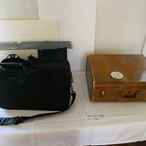 Auction Thumbnail for: Lot # 116- Samsonite luggage old and new