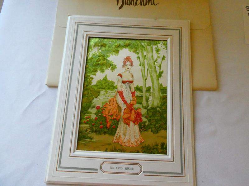 Lot # 119- Vintage Bianchini Ferier French Silk Print (main image)