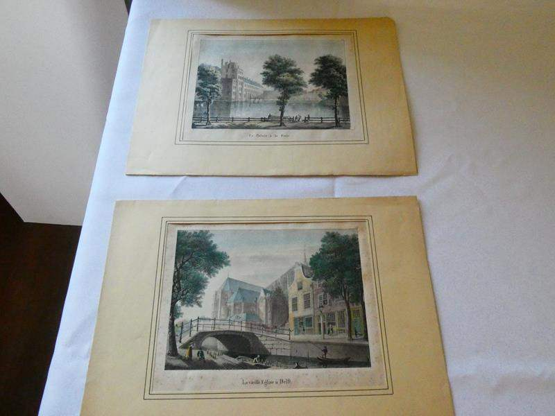 Lot # 120- Jean Joseph de Cloet 1825 Lithography  (main image)