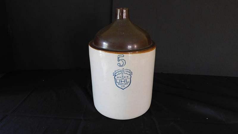 Lot # 68-Vintage UHL pottery jug (main image)