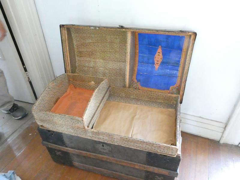 Lot # 141- Antique chest (main image)