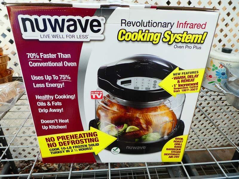 "Lot # 409- ""Nuwave"" cooking system (main image)"