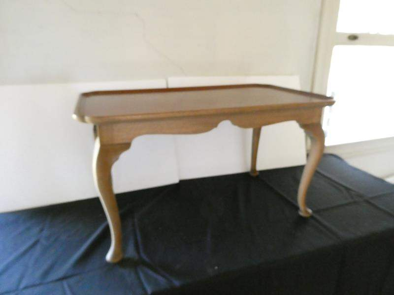 Lot # 162-Antique accent or side table (main image)