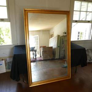 Auction Thumbnail for: Lot # 166- Life size vintage mirror