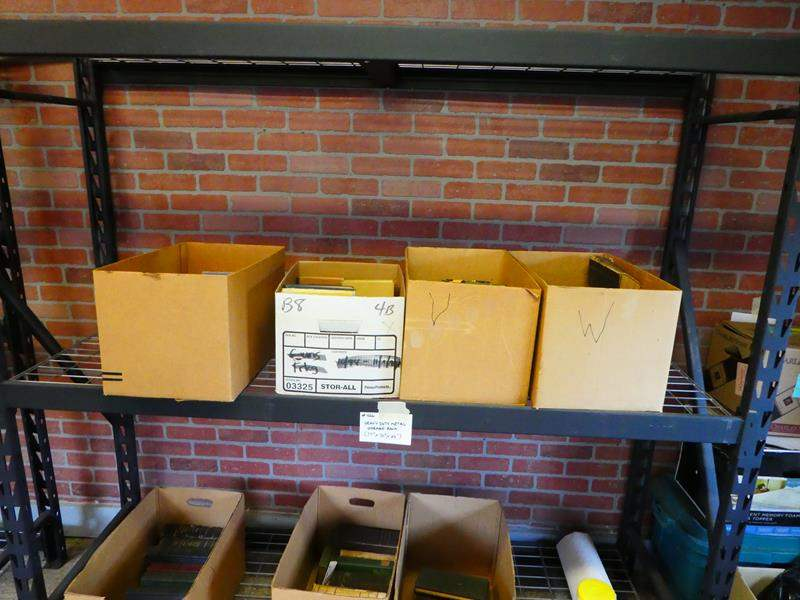 Lot # 426- Heavy duty metal storage rack (main image)