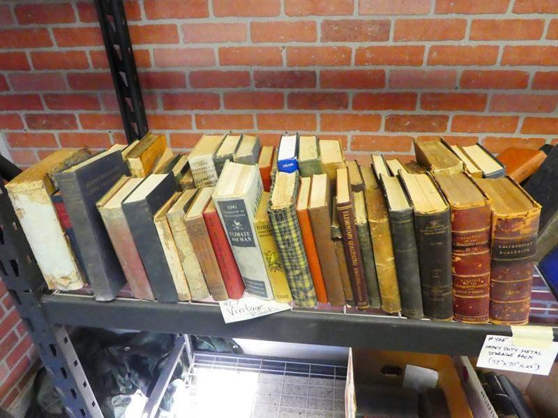 Lot # 427- Antique books (main image)