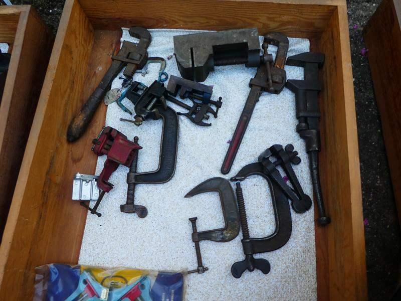 Lot # 434- Vintage tools- Drawer #4 (main image)