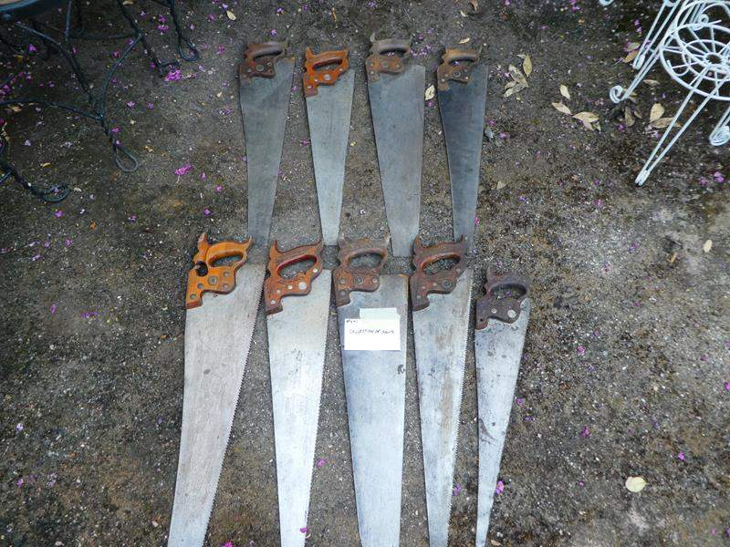 Lot # 441-Collection of saws (main image)