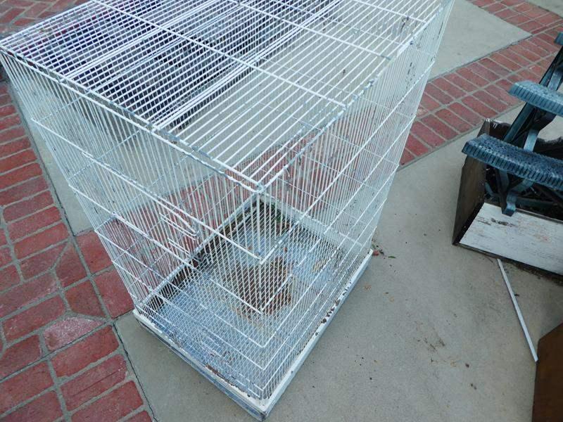 Lot # 459- Large bird cage (main image)
