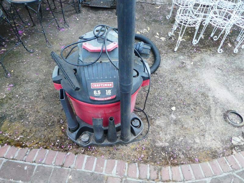 Lot # 460- Craftsman shop vac- 16 gallon (main image)