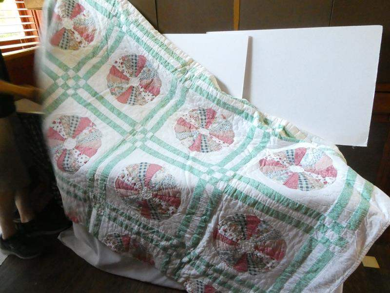 Lot # 96- Handmade quilt- Queen or King (main image)