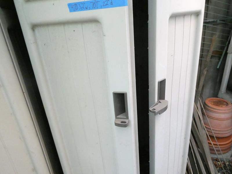 Lot # 470-One Suncast plastic garden storage locker (main image)