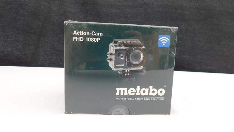 Lot # 15 - Action cam FHD 1080p by Metabo, professional power tool solutions (like a go-pro) (main image)