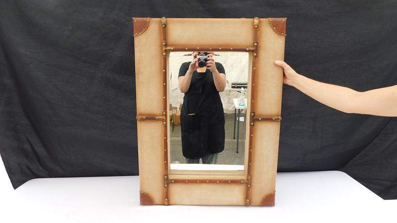 Lot # 33 - Suitcase Mirror (main image)