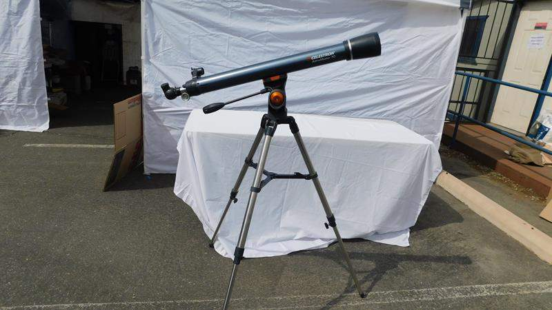 Lot # 34 - Telescope on Tripod (main image)