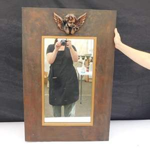Auction Thumbnail for: Lot # 35 - Cherubic Mirror