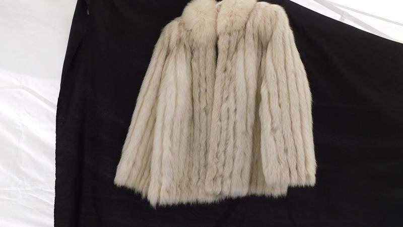 Lot # 37 - Vintage Saga Fox fur coat- Rare find! size medium- 10/12  (main image)