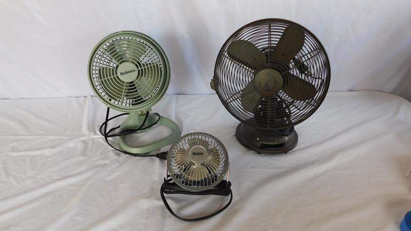 Lot # 52 - Collection of small fans!  (main image)