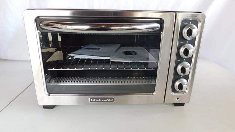 Lot # 79 - Kitchen Aid Toaster oven (main image)