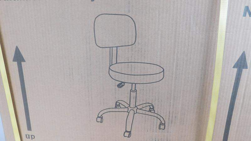 Lot # 98 - New desk chair- in box (main image)