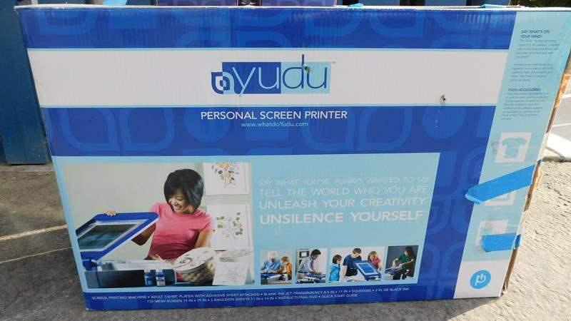 Lot # 104 - Screen Printer   Yudu in box.  (main image)