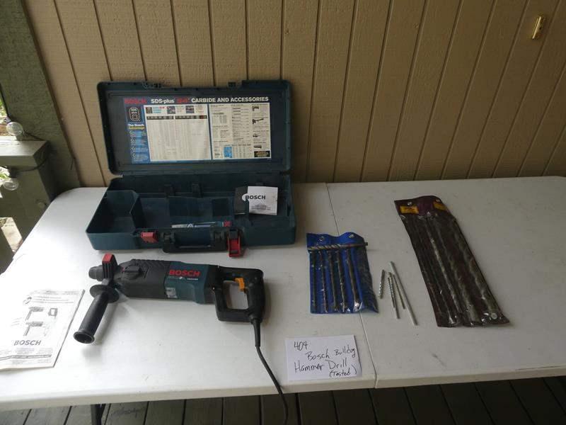 Lot # 404- Bosch Bulldog Hammer drill (main image)