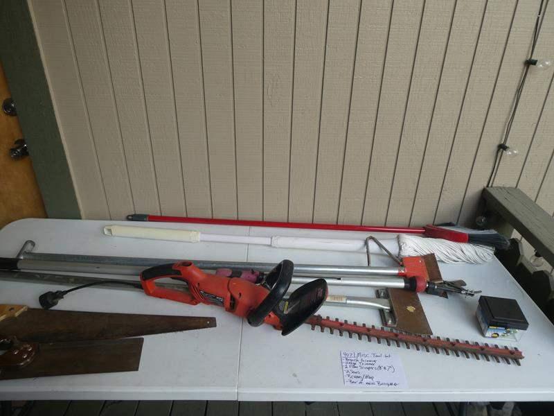 Lot # 407- Miscellaneous tool lot- see description below (main image)