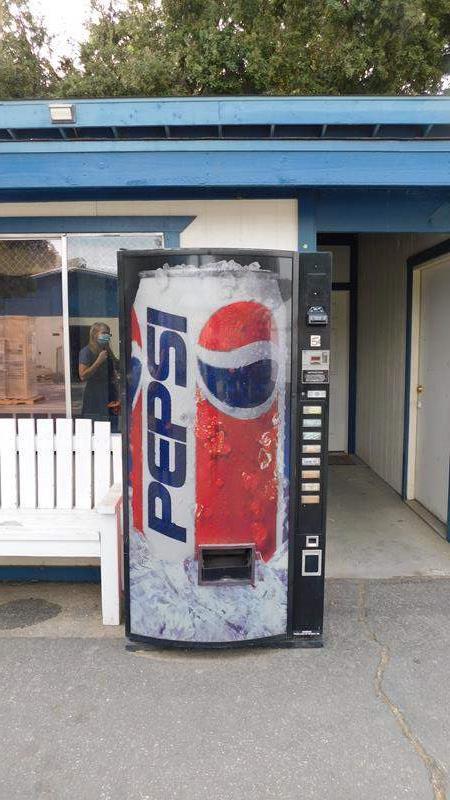 Lot # 1 -Pepsi Vending Machine (main image)