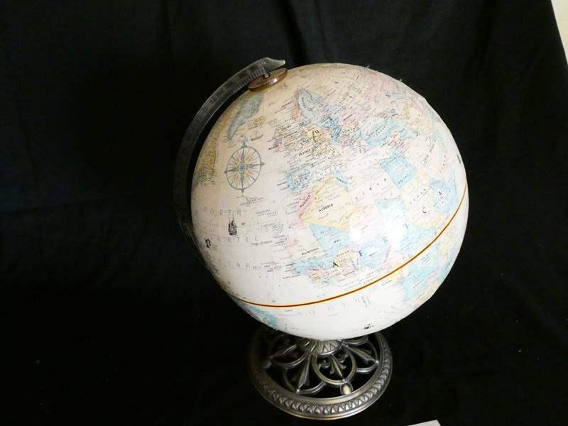 "Lot # 27-""Globe master"" Globe (main image)"