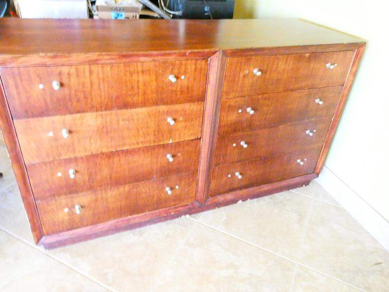 Lot # 35- Stickley style, mid- century/ Modern MCM / Hill brothers cal. style dresser (main image)