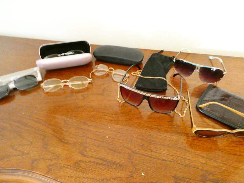 Lot # 71-Miscellaneous sunglasses- Kate Spade/ Gloria Vanderbilt  (main image)