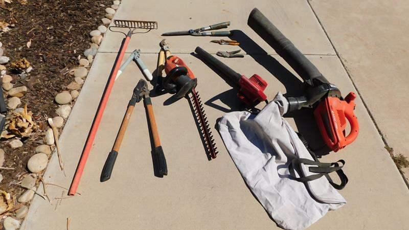 Lot # 439-Yard tools (main image)