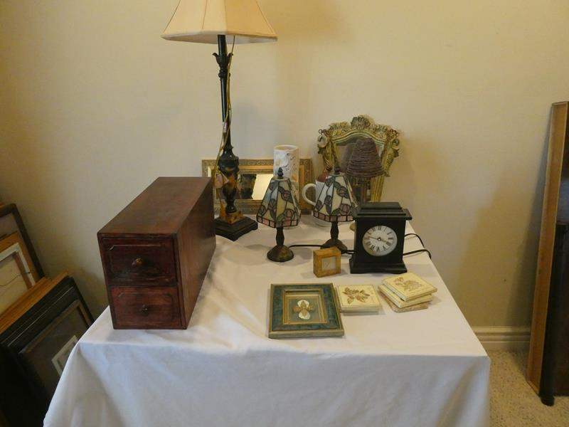 Lot # 89- Vintage, cute lamps, and other Indulgent treasures  (main image)