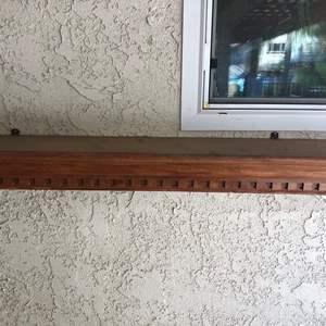 Auction Thumbnail for: Lot # 390- Wood Outside wall shelf