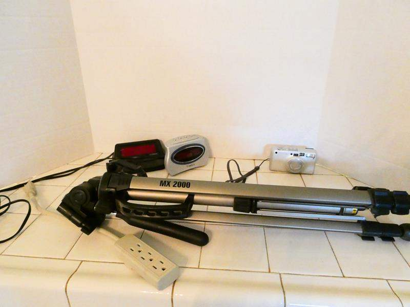 Lot # 60- MX 2000 TriPod & Zoom lens Camera + more (main image)