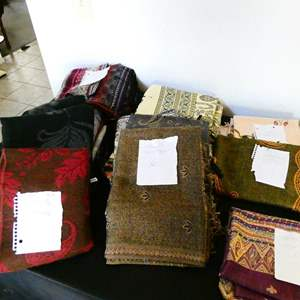 Lot # 67- Egyptian Cashmere, silk, and wool scarves