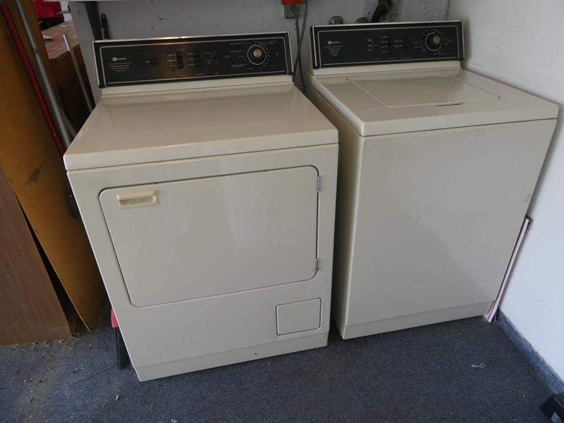 Lot # 224- Working Matag washer and dryer (main image)