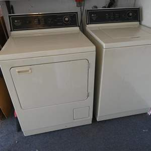 Lot # 224- Working Matag washer and dryer