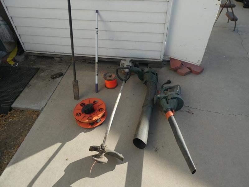 Lot # 233- Black and Decker Leaf blower, Echo/ 2 stroke gas weed wacker (main image)