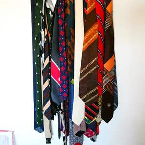 Lot # 81- A variety of stylish Vintage ties
