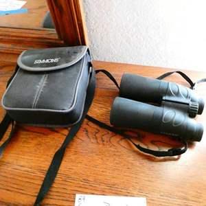 Lot # 89- Simmons Binoculars 10 x 50 Coated optics