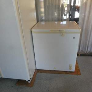 Lot # 30- GE chest freezer-working!