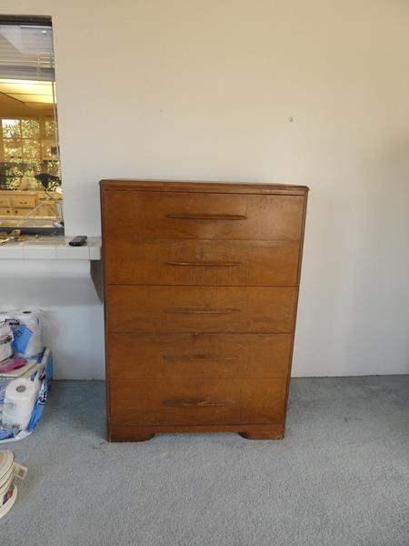 Lot # 43- Mid century dresser (main image)