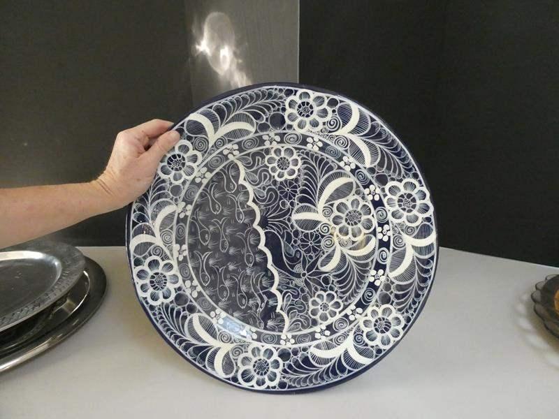 Lot # 48- Beautiful Platters & collectible plates (main image)
