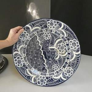 Lot # 48- Beautiful Platters & collectible plates