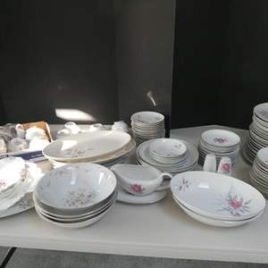 Lot # 49- Golden Rose Fine China, Brittany Rose, made in Japan