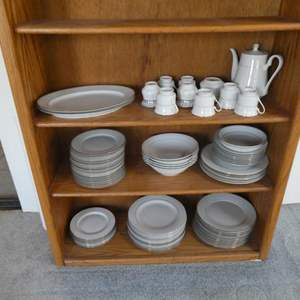 Lot # 51- Muirefield fine China and Signature china (book shelf not included)