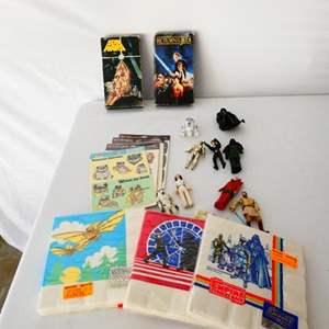 Lot # 15- Vintage Star Wars Collectables