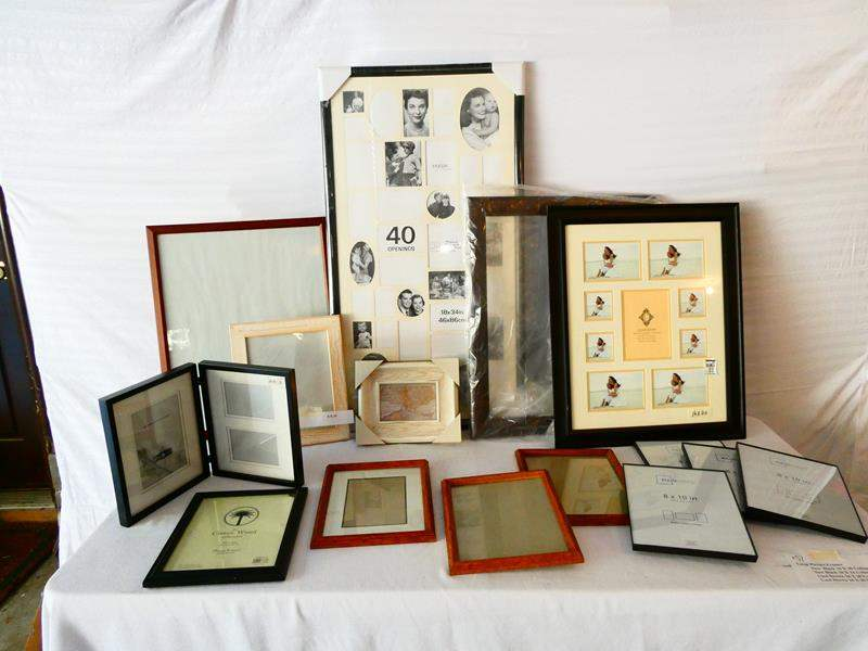 Lot # 37-Frames, Frames, Frames! See all pictures- many never used! (main image)